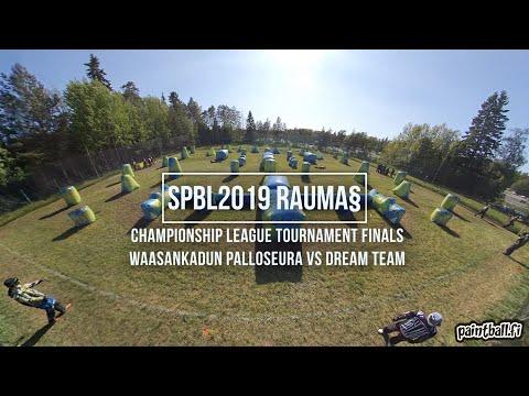 WPS vs Dream Team - Finals - SPBL2019 Rauma