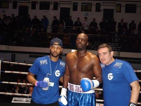 Heavyweight Big Jack Mulowayi Post fight Interview with Coach Daley battle Igor Mihaljevic won UD