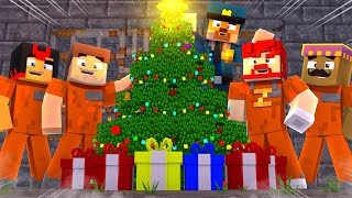 CHRISTMAS IN PRISON!?!?!?   Minecraft Cops n Robbers!