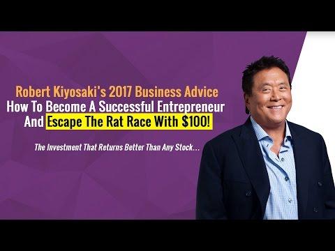 Robert Kiyosaki's 2017 Business Advice To Escape The Rat Race FAST! (It's eCommerce)