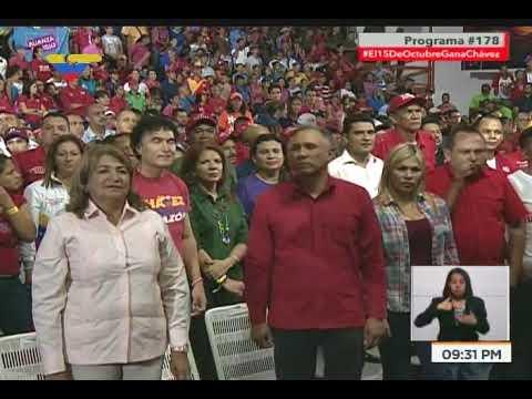 Presidente Nicolás Maduro en llamada a Con el Mazo Dando, 11 octubre 2017
