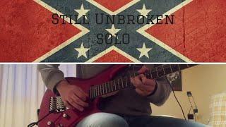 Lynyrd Skynyrd - Still Unbroken SOLO (GUITAR COVER)