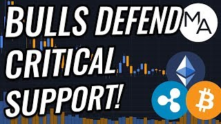 Bulls Defend Critical Support Level In Bitcoin & Crypto Markets! BTC, ETH, XRP, BCH & Crypto News!