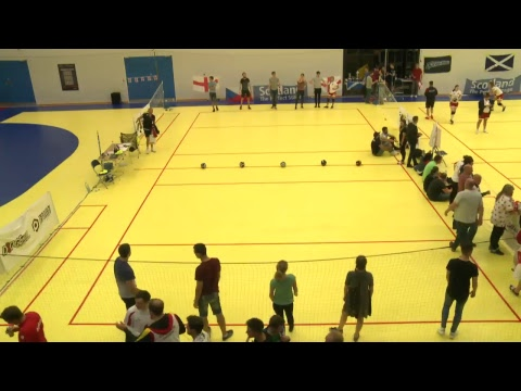 Court 2, Day 3 - European Dodgeball Championship 2017