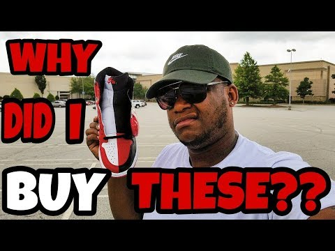 WHY DID I BUY JORDAN 1 HOMAGE TO HOME?? PICKUP VLOG!!!