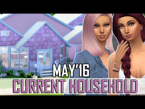 The Sims 4: Current Household - Mora Twins (May 2016)