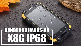 X8G RUGGED PHONE with ip68 - review one of the best among budget rugged smartphones