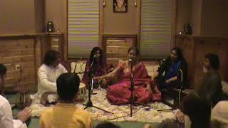 Vidushi Arati Ankalikar Tikekar(Vocal) with Hindole Majumdar(Tabla) Live in Milwaukee USA