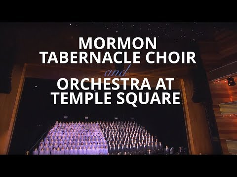 Los Angeles, The Music Center's Walt Disney Concert Hall - 2018 Mormon Tabernacle Choir Tour