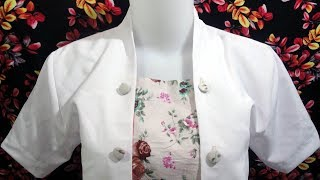 how to sewing a simple blouse model (35)