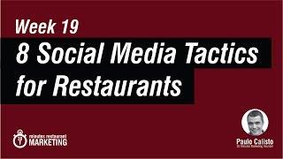 8 Social Media for Restaurants Post Ideas