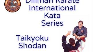 George Dillman/Dillman Karate International/Taikyoku Shodan Kata