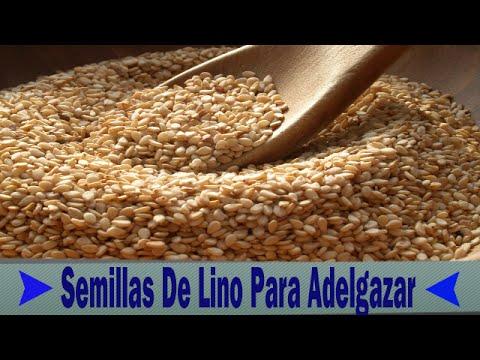 Como tomar las semillas de linaza para adelgazar