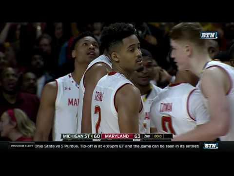 Melo Trimble's Game-Winning Three-Pointer vs. Michigan State