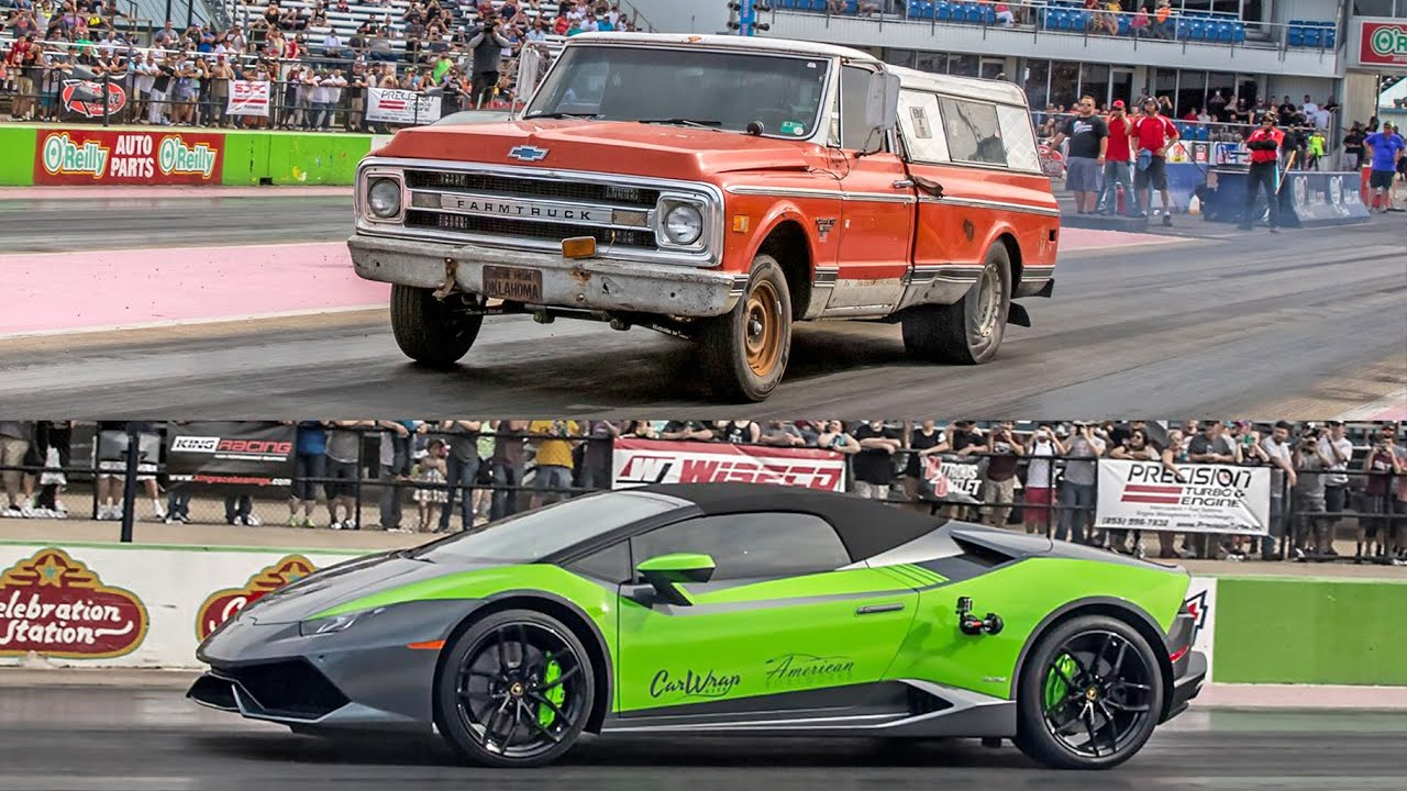 Farmtruck Vs Lambo