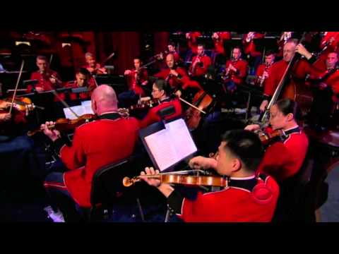 The U.S.Marine Corps Band at the Late Show with David Letterman