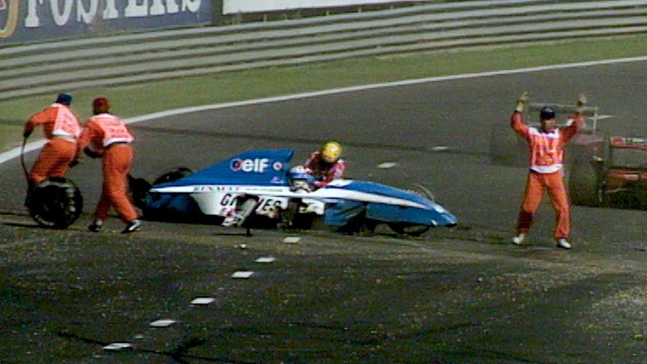 Ayrton Senna Saves Erik Comas | 1992 Belgian Grand Prix