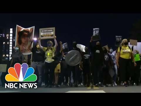 Protests Across The U.S. After No Officers Charged With Breonna Taylor's Death | NBC Nightly News