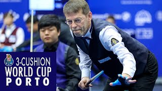 3-Cushion World Cup Porto 2019 -  Torbjörn Blomdahl vs Cho Myung-Woo