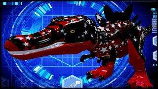 LEGO Jurassic World - CUSTOM DINOSAURS! RED T-REX!