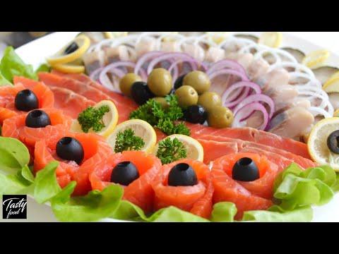 Отличная Идея Рыбной Нарезки на Праздничный Стол!