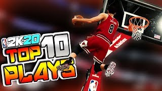 NBA 2K20 TOP 10 PLAYS #2 - INSANE LAYUPS, Posterizers & More