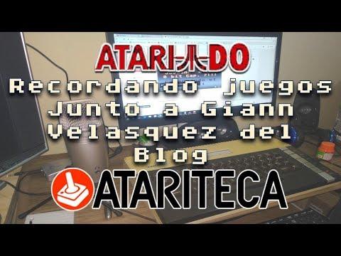 Junto a Giann Velásquez del blog ATARITECA