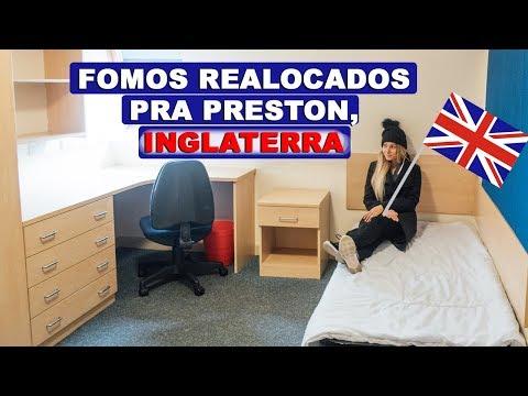 NOS MUDAMOS PRA INGLATERRA + TOUR PELO DORMITÓRIO | Lorrayne Mavromatis