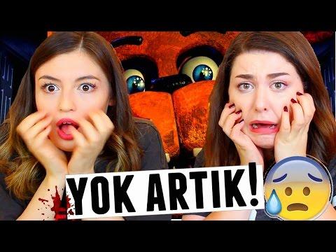ELİF'LE KORKU OYUNU OYNADIK!! Five...