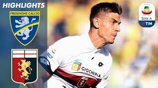 Frosinone 1-2 Genoa | Piątek Scores Twice to Sink Frosinone | Serie A