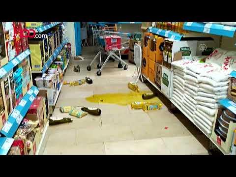 Bingöl'de 5.2'lik büyük depremden ilk görüntüler!