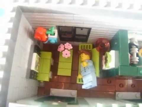 Custom Emmet S Apartment Lego Movie Bulding Youtube