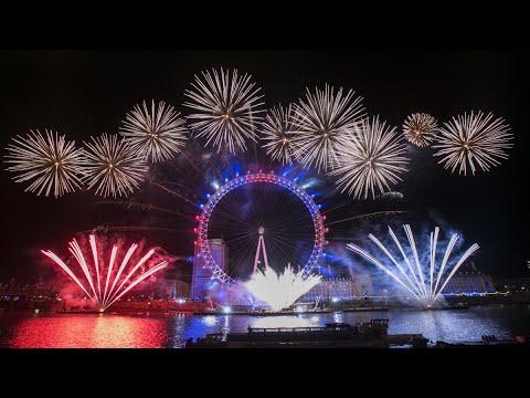 Fuegos Artificiales En Londres 2018 Feliz Ano Nuevo Amores Uk