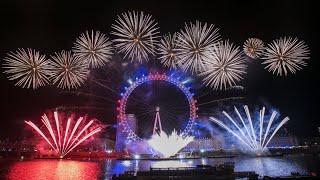 FUEGOS ARTIFICIALES EN LONDRES 2018 Feliz Año Nuevo Amores 😘😘😘 UK London Fireworks 2018 Happy NY