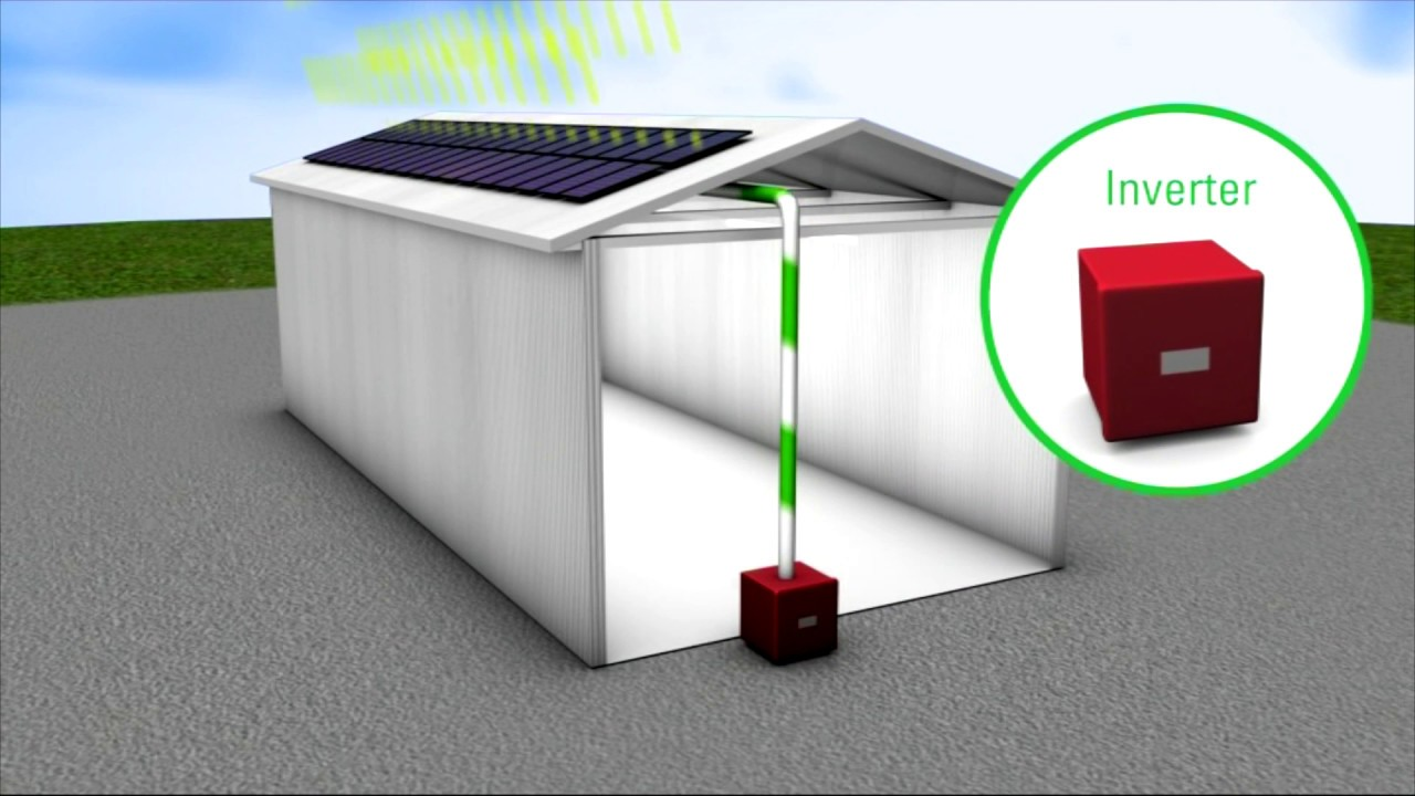 Solar panels -- How commercial solar PV systems work - YouTube