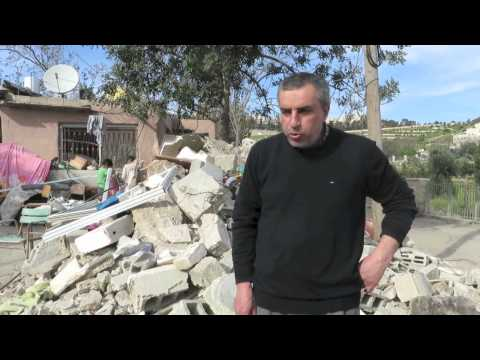 Israeli forces demolish home of two blind brothers in East Jerusalem