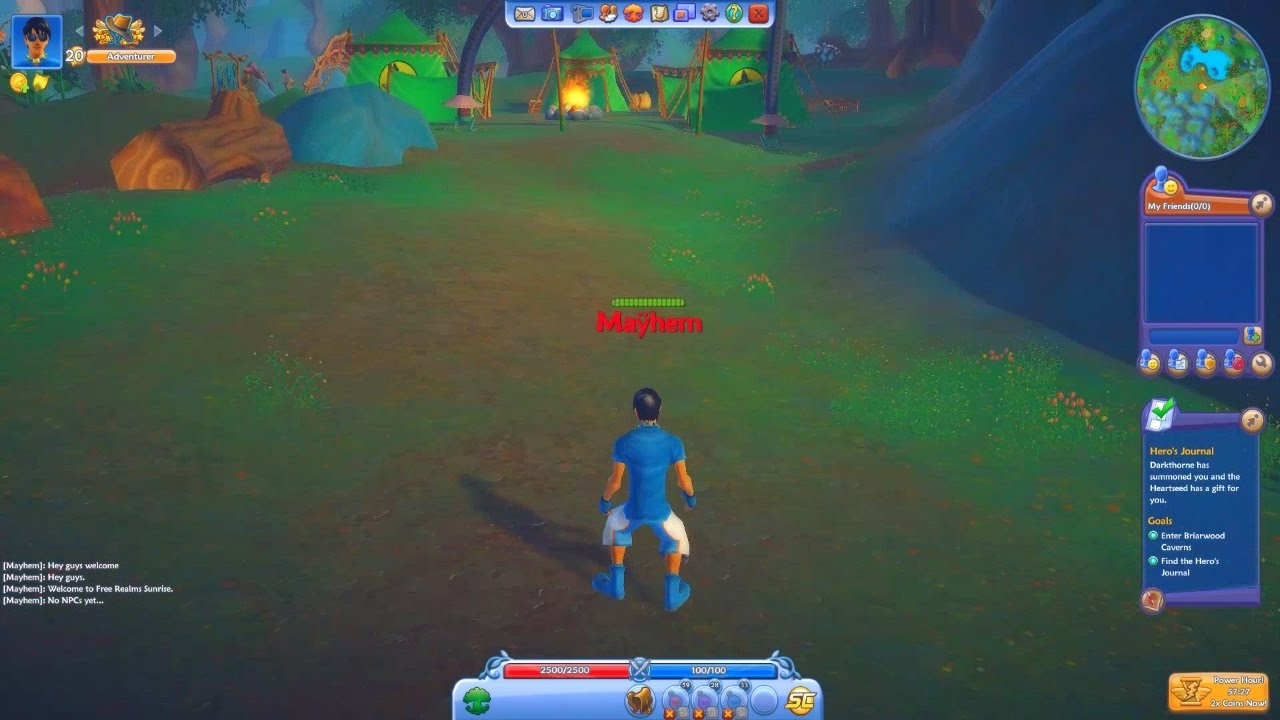 Free realms review, news, videos & walkthroughs | mmoden.