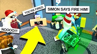 EXTREME SIMON SAYS (Roblox) *GETTING FIRED*