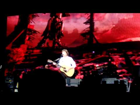 P. McCartney Amsterdam another day & hope for the future