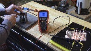 Maximum Efficiency from a Drum Motor to a Generator
