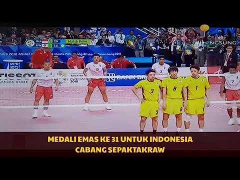 Medali Emas Ke 31 Indonesia Cabang SepakTakraw
