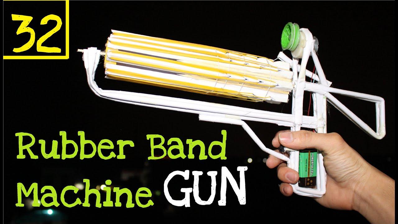 how to make paper machine guns