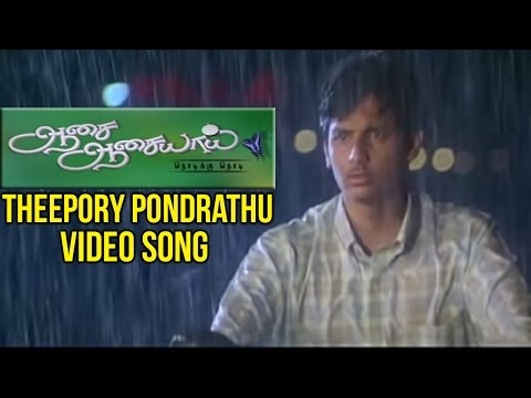 Aasai Aasaiyai Tamil Movie | Theepory Pondrathu Video Song | Jiiva | Sharmelee | Mani Sharma