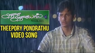 Aasai Aasaiyai Tamil Movie | Theepory Pondrathu Video Song | Jiiva | Sharmelee | Mani Sharma