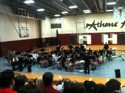 ATHENS TEXAS HS BAND 2013 Wind Ensemble