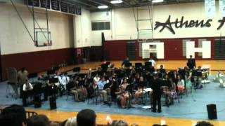 ATHENS TEXAS HS BAND 2013 Wind Ensemble