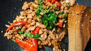 ผัดกะเพราหมูสับ ทำง่ายๆ ใครทำก็อร่อย l อร่อยพุง #คอนเฟิร์มความอร่อยจากคอมเม้น