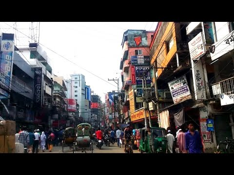 Sylhet City Drive Through Bangladesh