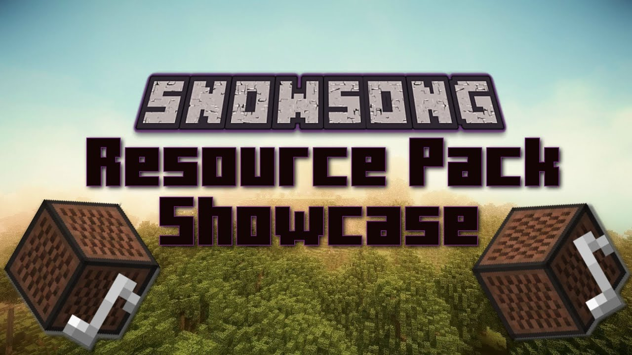 Resource Pack Showcase: Ep 1 Snowsong!