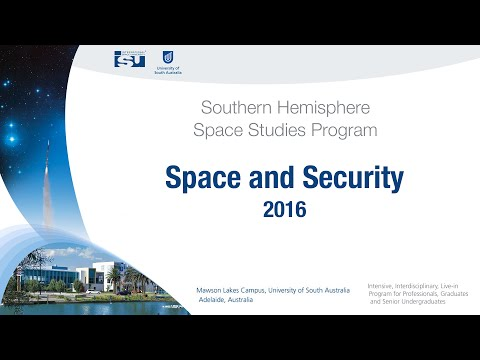 Space and Security - SHSSP16